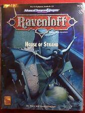 House of Strahd - RM4 - AD&D - Dungeons & Dragons - Ravenloft - NEW