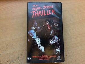 Making Michael Jackson's Thriller by John Landis (VHS Video Tape 1983) GC
