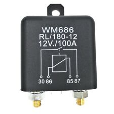 Car DC 12V 100A Relay 4 Pin RL180 Heavy Duty Install Style Split Chargeover