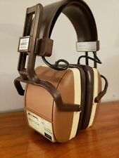 Vintage Radio Headphones Am Fm Triumph Headhugger Westclox no. 80155 Works
