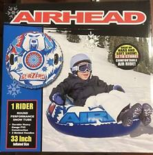 "Airhead Subzero Snow Tube Sled 33"" Heavy Duty With Handles"