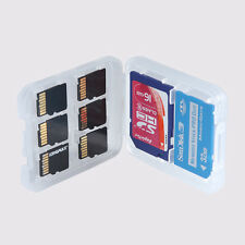 2* 8 En1 Micro SD TF SDHC MSPD Estuche caso Caja Tarjetas Memoria Almacenamiento