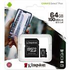 Kingston Micro SD Canvas Select Plus Memory Card 32GB 64GB 128GB 256GB 512GB lot