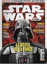 STAR WARS INSIDER N° 1 COVER 1/2 - MAGAZINE OFFICIEL DE STAR WARS