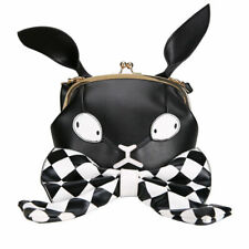 Japanese Grils Lolita Bow Messenger Bag Cute Bunny Bag Shoulder Shell Gothic Bag