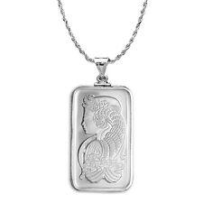 20 gram Silver - PAMP Suisse Fortuna Pendant (w/Chain) - SKU #86993