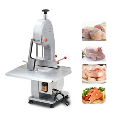 Commercial Electric Bone Sawing Machine Frozen Steak Fish Meat Safe 1500W 110V