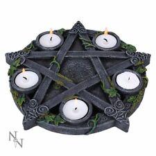 Nemesis Now - Wiccan Pentagramm - Teelicht Halter