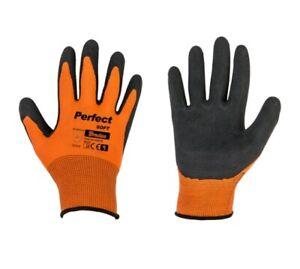 1 PAAR Gartenhandschuhe ORANGE Größe 9 Handschuhe Handschuhe Gartenarbeit Soft