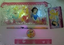 DISNEY Princess Ragazze ASTUCCIO Inc Righello Temperamatite Righello & eraser