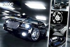 AUTOMOBILIA POSTER~Chrysler 300C 300 C Collage MOBSTA Elegant Daimler Vehicle~