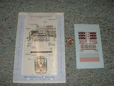 Microscale  decals N 60-537 VMV Enterprises leasing locomotives GP-35  F86