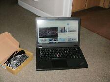 Lenovo ThinkPad T440p i7 2.9GHz 4GB 128GB DVD SSD Win 10 Charger ref i7