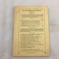 DECEMBRE 1965-FRENCH BOOK-REVUE D'HISTOIRE DE L'AMERIQUE FRANCAISE-VOL. XIX NO 3