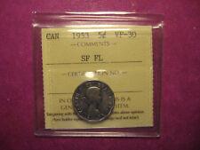 Rare 1953 Canada 5c