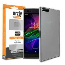 Razer Phone Case Clear Frost FlexiCase Cover Protective Shell by Orzly