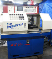 American Way Gang Tool Cnc Lathe W Omni Type Cnc Control With New Centroid