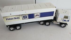 Vintage Nylint GM General Motors Fisher Body Semi Truck Trailer & Cab
