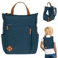 Rucksack Damen Spear Vintage Hygge Damenrucksack A4 Handtasche 12788 Blau +s