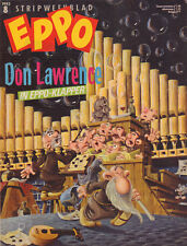 STRIPWEEKBLAD EPPO 1983 nr. 08 - DON LAWRENCE (INTERVIEW) / LEUKEBROEDERS /STORM