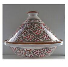 "12"" Ceramic Tagine,TAJINE Chicken TANGIA Steam COOK WARE Clay Pot Tangi"