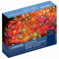 The Christmas Xmas Lights 6m Chaser Rope Light - Multi-Coloured