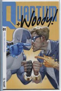 QUANTUM & WOODY! #1-8 ISSUE RUN - VALIANT (3RD SERIES)