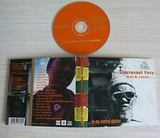 CD ALBUM DUB & VOCALS IN MY CENTRAL STATION - LIEUTENANT FOXY 11 TITRES