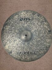 "Istanbul Agop Signature Hand Hammered 24"" Om Ride Cymbal **Incredibly Rare**"
