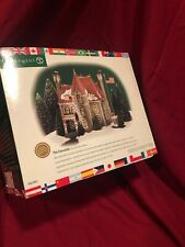 """Department 56 Christmas in the City """"The Consulate"""" Brand New"""