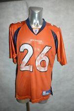 Football T-Shirt Us Reebok Broncos Bell No. 26 Jersey/Maglia Size M Team Nfl
