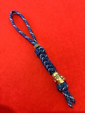 550 Paracord Knife Lanyard Tsunami  Cord With Smiling Pirate  Bead