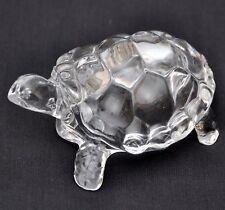 Fen gshui Vastu Original Clear Crystal Turtle Home Decoration Gifts