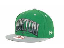 Burton Snowboards New Era 9Fifty Burt Bam Block Snap back Flat Bill Cap Hat