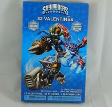 32 Count SKYLANDERS Valentines Day Cards w/ Stickers & Teacher Card School Party