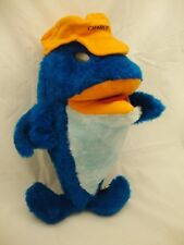 1983 Charlie Tuna Sunkist Stuffed Plush Fish Premium With Cap TRUDY FREE Ship