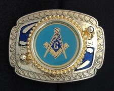 Mason Masonic Freemason Belt Buckle - #235