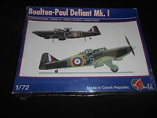 PAVLA 72032, 1/72 BOULTON-PAUL DEFIANT Mk.1 PLASTIC MODEL KIT