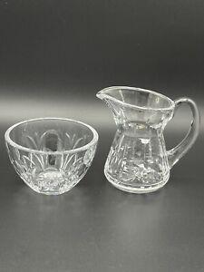 Waterford crystal sugar and creamer set
