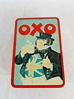 Vintage Advertising Food Tin-OXO Cubes John Bull-Patriotic-Union Jack Design