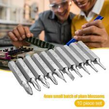 10pcs Pro CR-V Torx Bits Set Phillips Slotted Torx Bit Mobile Phone Repair Tool
