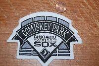 "Chicago White Sox 4 5/8"" Comisky Park Logo Patch Baseball"