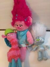 DreamWorks Princess Poppy Stuffed Plush Doll  Trolls  Cooper Diamond
