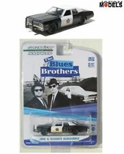 The Blues Brothers JAKE & ELWOOD'S BLUESMOBILE Greenlight Die Cast 1/64 Ltd New