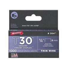 Septls091304 - Arrow Fastener T30 Type Staples - 304