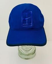 Nike Featherlight Cap Hat Dri Fit Running Tennis Blue Excellent