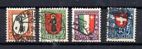 Switzerland 1923 Pro Juventute fine used set J24-27 WS15665