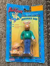 Vintage 1996 Playskool Arthur Poseable Figure Arthur's Dad New!