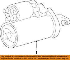 CHRYSLER OEM-Starter Motor 4801651AA
