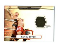 WWE Randy Orton Topps Platinum 2010 Event Worn Shirt Relic Card